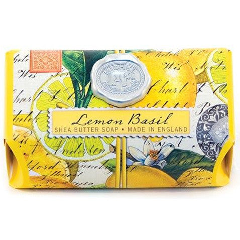 Lemon Basil Soap - Fragrant Gifts from Artful Teasing
