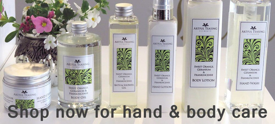 Artful Teasing hand and body care