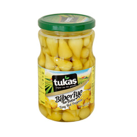 Tukas Hot Pepper Pickles - 335gr
