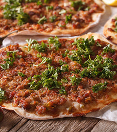 6 pack - Ground Beef Pide (Lahmacun)