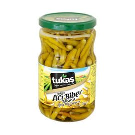Tukas Long Hot Peppers 680gr