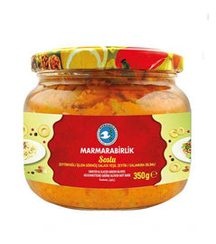 Marmarabirlik Sliced Green Olives Spread (Soslu Zeytin) 350gr