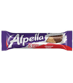 Ulker Alpella Ucgen (Chocolate Covered Wafers) 24gr