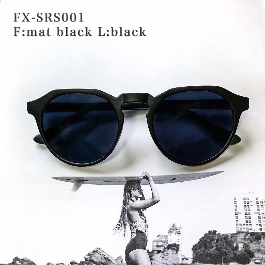 【3color】square round sunglasses