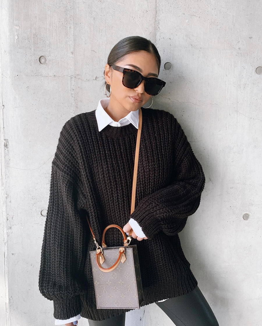 【4color】square wide sunglasses