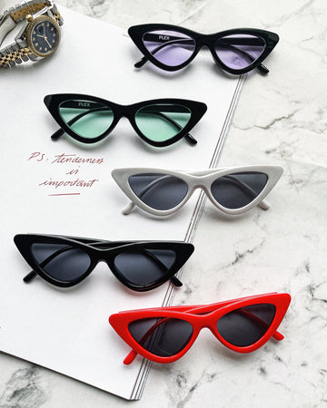 [5 color] cat eye 2 sunglasses