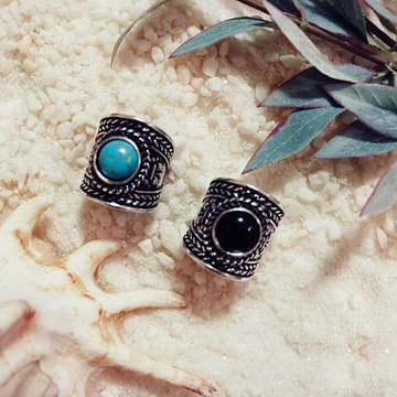 【2color】turquoise ring