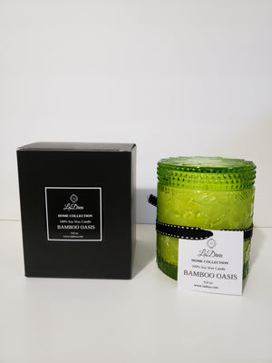 LaDrea Scented Soy Candle - Bamboo Oasis - ladreaboutique