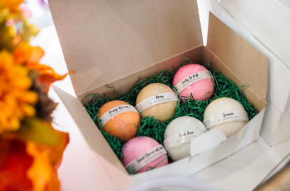 Bath Bomb 6 Piece Gift Set - Mother's Day Gift/Gift For Her/Birthday Gift/Wedding Gift/Graduation Gift - ladreaboutique