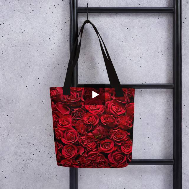 Tote bag - LaDrea Originals  Rose