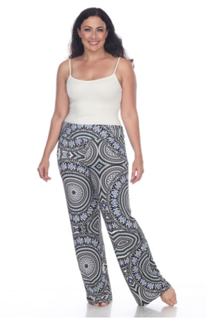 Plus Size Palazzo Pant - Available in 10 different colors