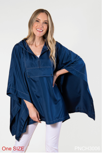 Rain Poncho - available in 2 colors (FINAL SALE)  Simply Noelle