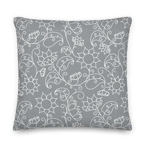 LaDrea Originals Pillow Pantone Grey (Free Shipping)