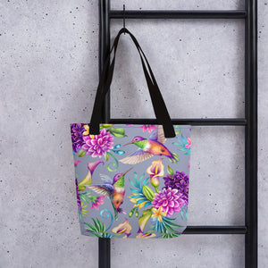 LaDrea Hummingbirds Tote