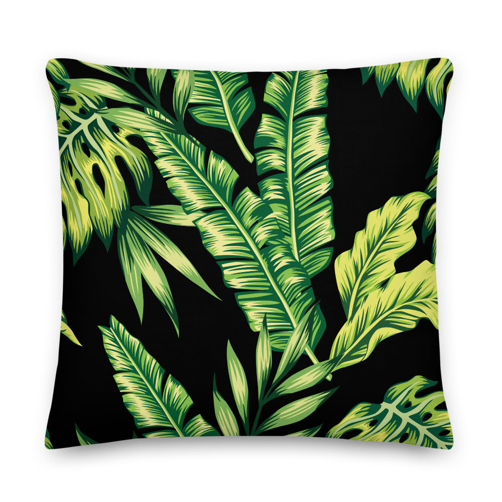 LaDrea Originals Pillow- Black Tropics