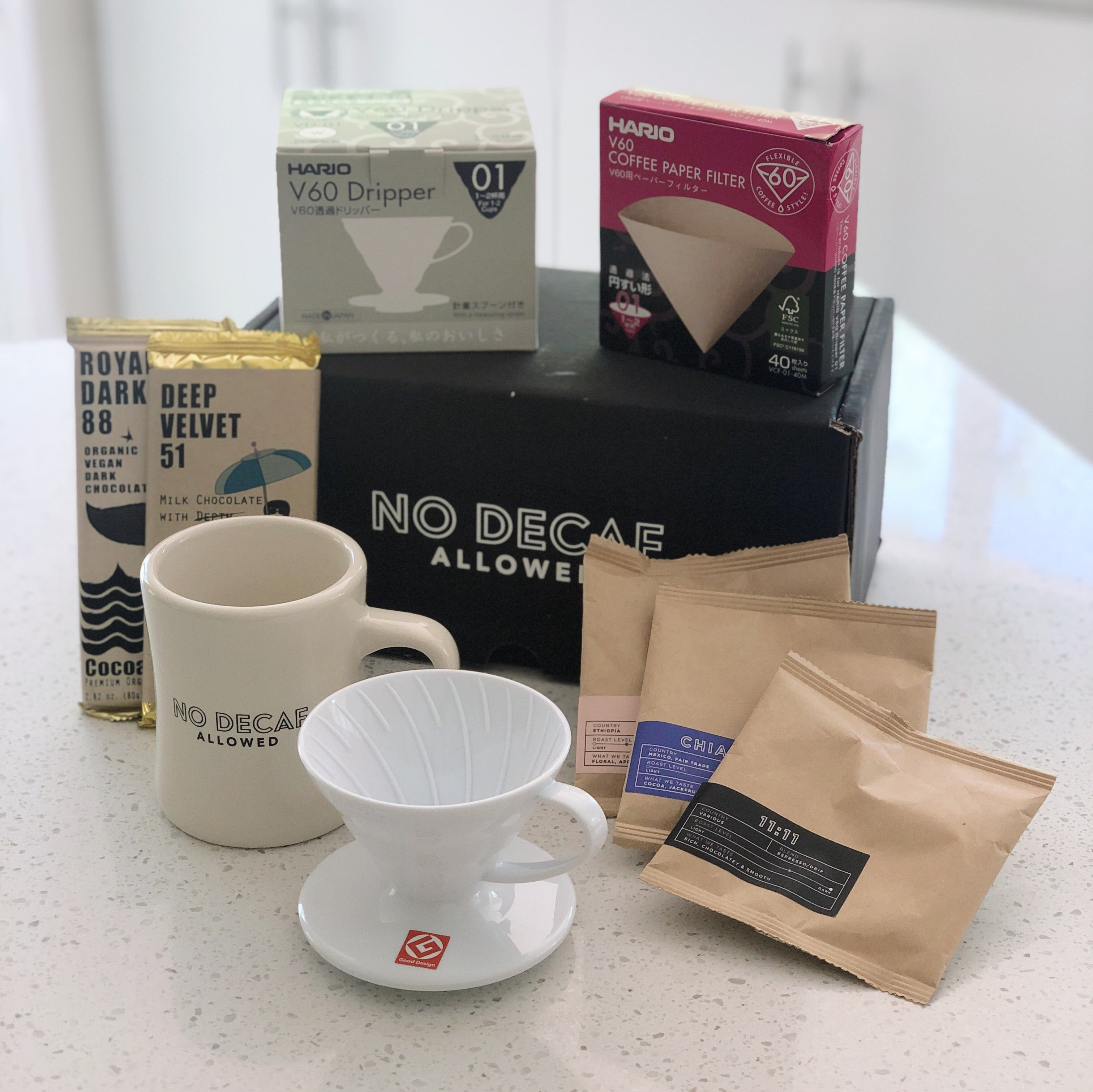 Celebrate Mother's Day Coffee Experience with NO DECAF ALLOWED