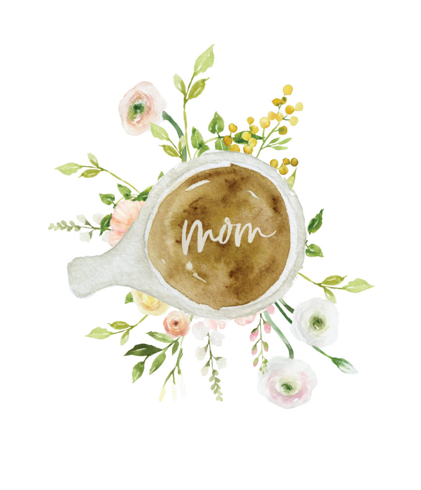 NO DECAF ALLOWED Mother's Day Card by Brooke Dieda Calligraphy
