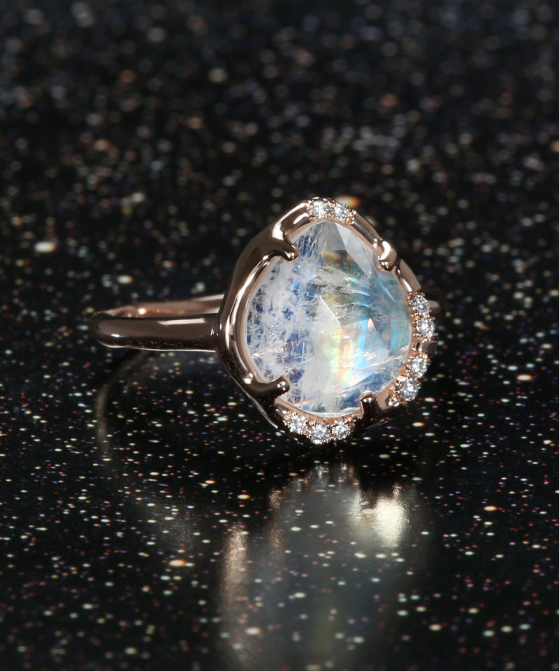 Aphenos Moonstone Ring