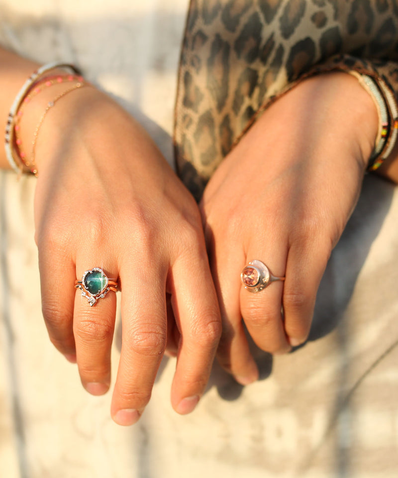 Aphenos and Ethereal Ring Stack