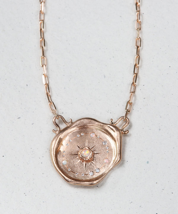 Celestial Sun Dial Necklace