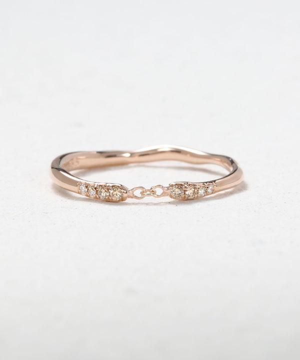 Cuff Chained Ring