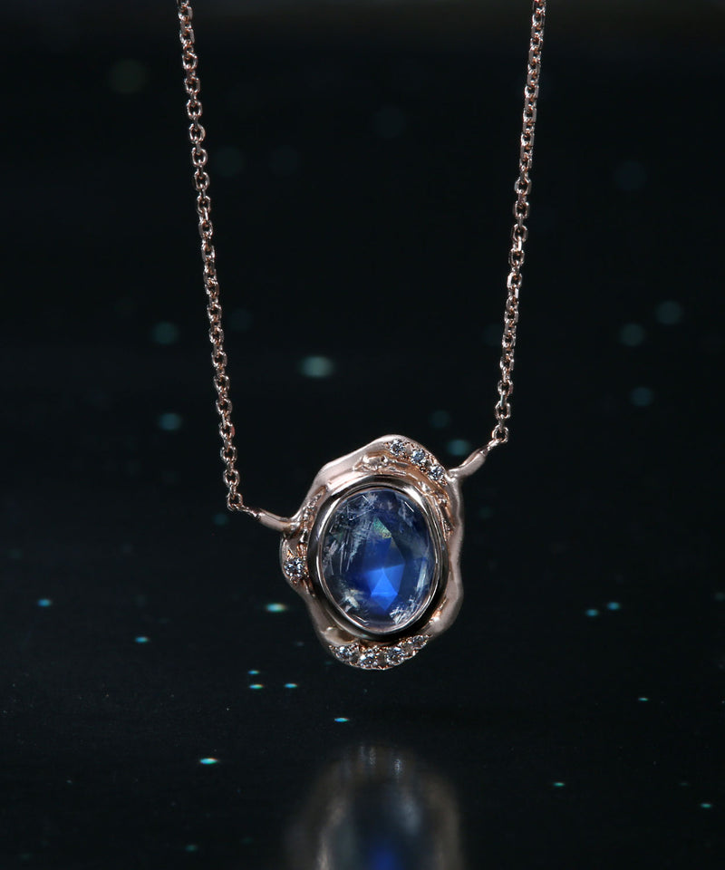 Elemental Moonstone Necklace