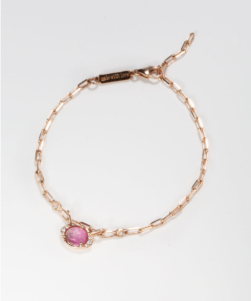 Eye Shape Tourmaline Bracelet