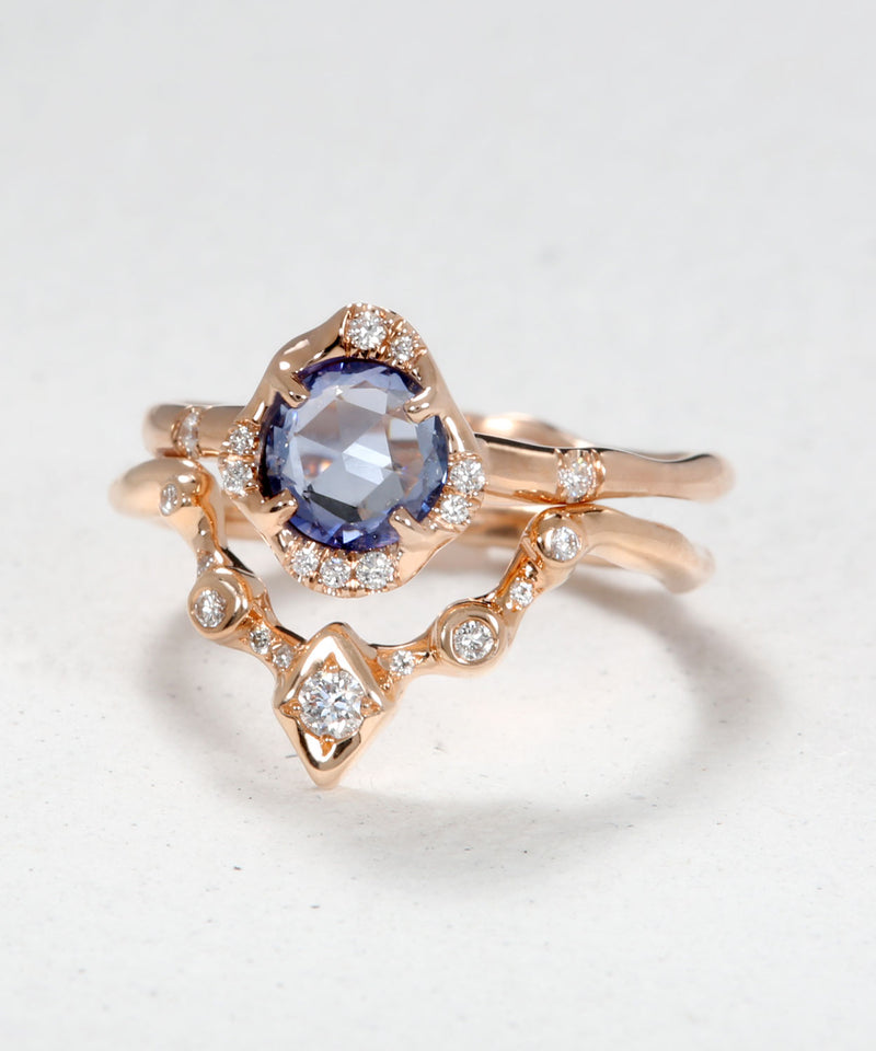 Infinite Love Blue Sapphire and Ethereal Stack