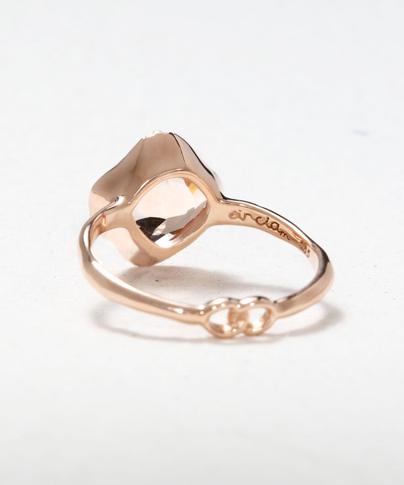 Infinite Love Cushion Ring