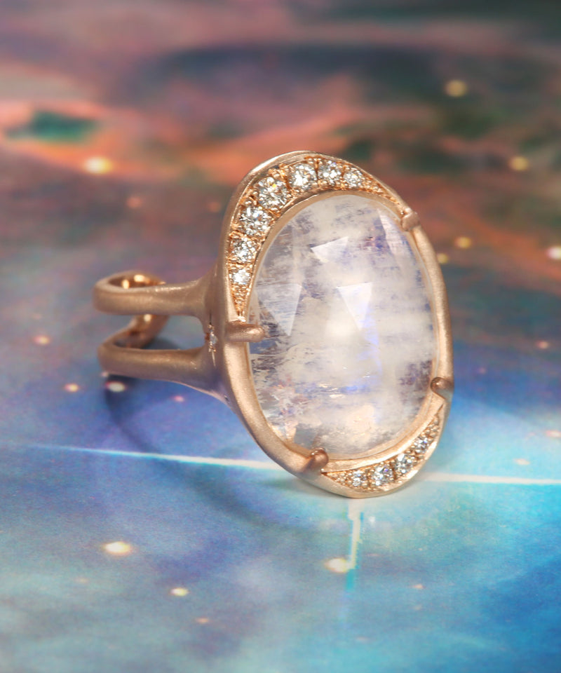 Intuition Moon Ring