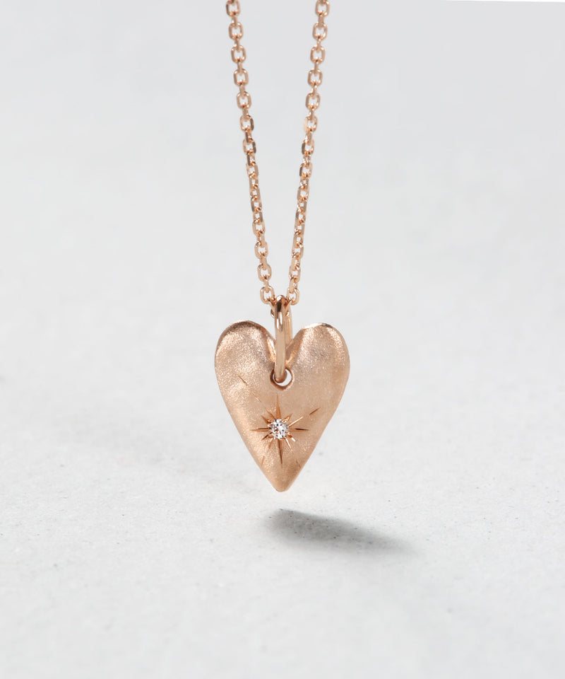Little Heart Plate Necklace