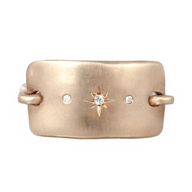 Rectangle Plate Ring
