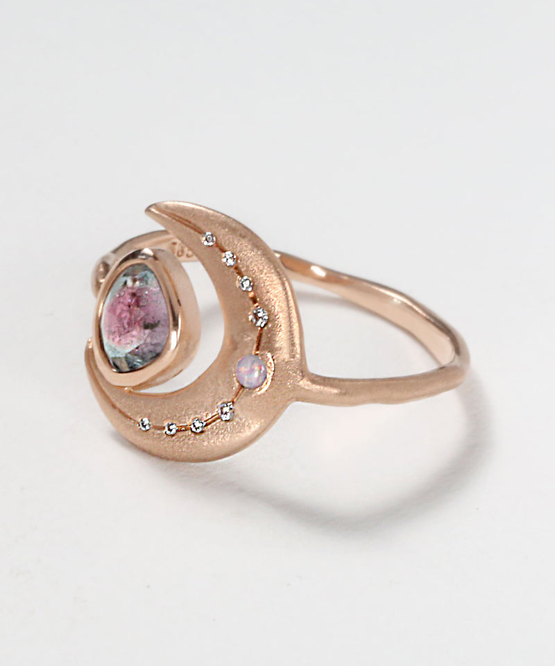Shimmering Moon Ring