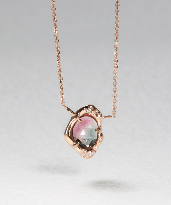 Tourmaline Sliver Necklace