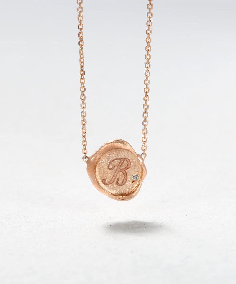 Wax Stamp Necklace