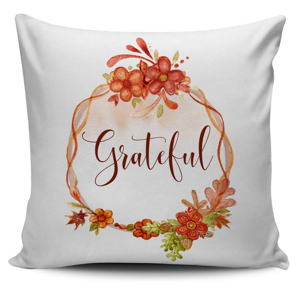 Fall Watercolor Bed Or Couch Throw Pillow Covers For Fall Home Decor