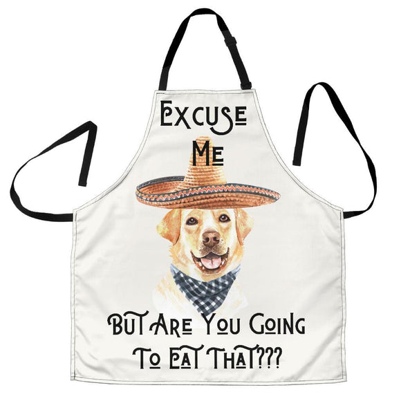 Aprons - Women's Funny Dog Lovers Apron For Kitchen Cooking Baking Or Grilling