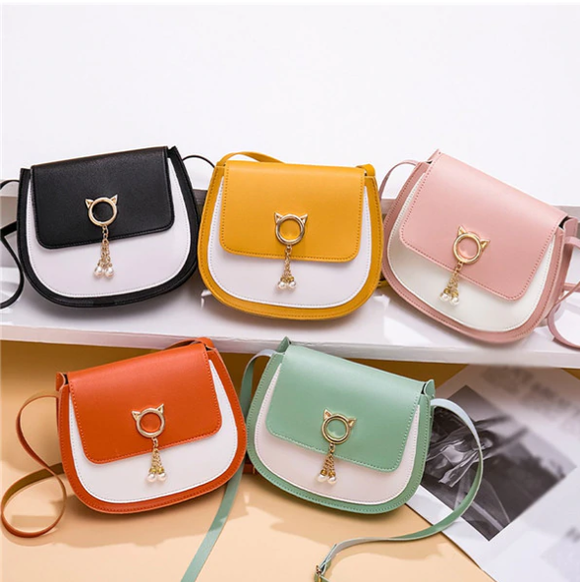 Cat Crossbody Shoulder Cell Phone Clutch for Cat Lovers