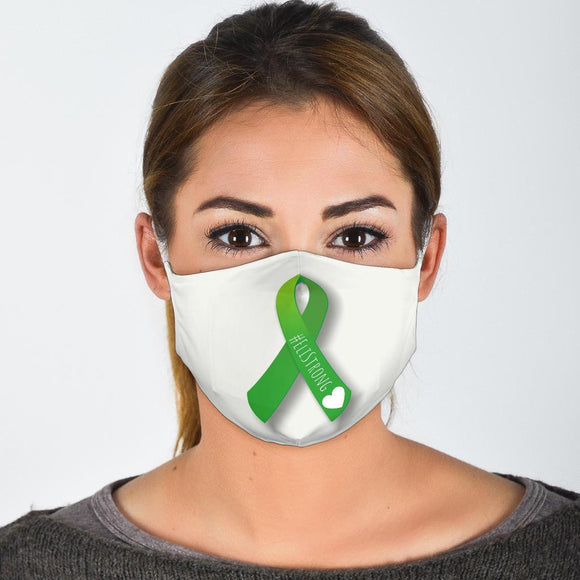 Face Masks Eli - #EliStrong Green Ribbon Face Masks