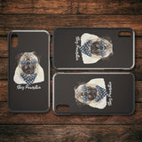 Phone Cases - Stay Pawsitive Pug Cell Phone IPhone Protector Case For Dog Lovers