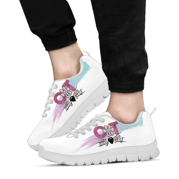 Shoes - Women's Cat Sneakers Running Shoes For Cat Lovers