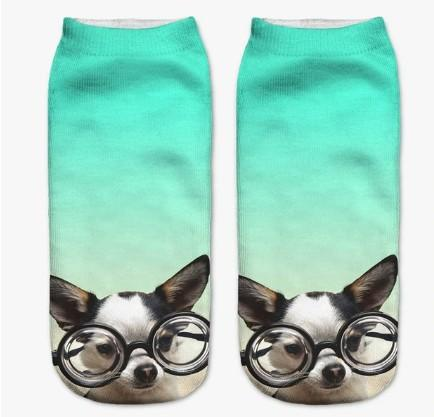 Socks - Adorable 3D Printed Dog Lovers Socks For Every Dog Mood