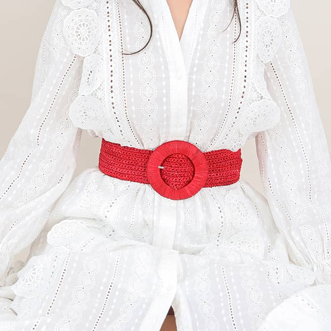 Ceinture Betty Rouge