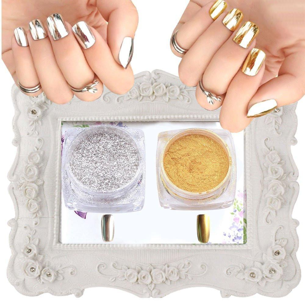 NEW! Magic Mirror Nail Powder