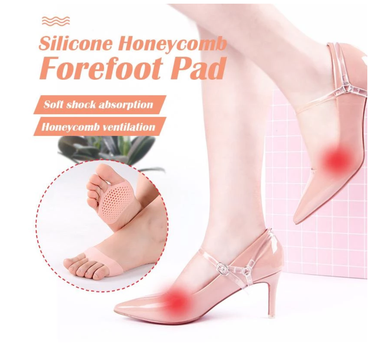 Soft Heels Foot Pad
