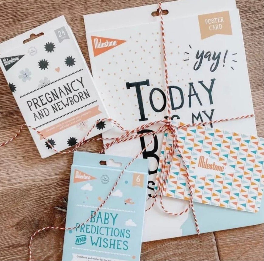 Pregnancy And Newborn Photo Cards