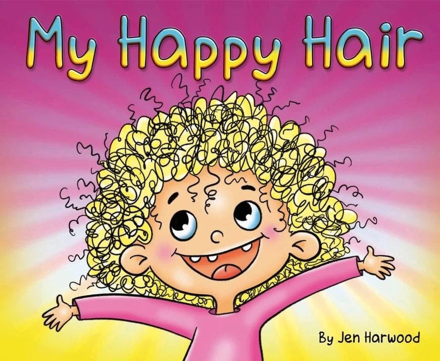Happy Hair Brush Book - My Happy Hair