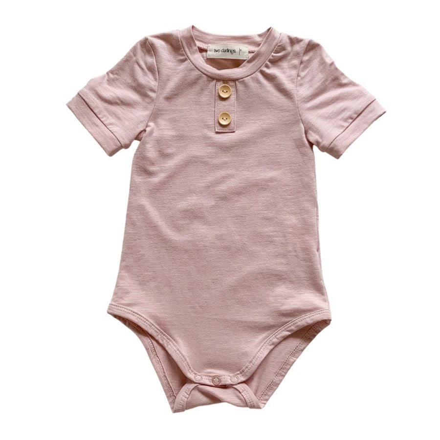 Blush Bamboo Bodysuit