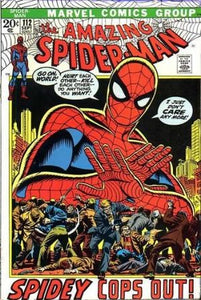 Marvel Comics The Amazing Spider-Man #112 Vintage 1972 Comic Collection