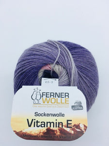 "Ferner Wolle Sockenwolle ""Vitamin E"" ,100g"